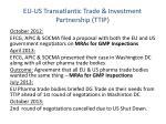 eu us transatlantic trade investment partnership ttip