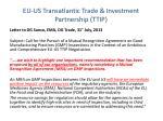 eu us transatlantic trade investment partnership ttip1