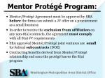 mentor prot g program1