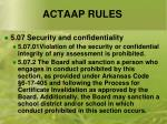 actaap rules6
