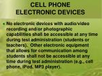 cell phone electronic devices