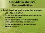 test administrator s responsibilities3