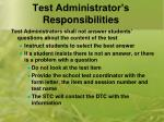 test administrator s responsibilities4