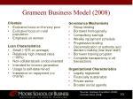 grameen business model 2008