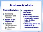 business markets2