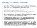 cross agency priority goals management