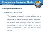 segmenting consumer market4