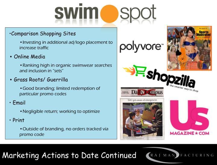 Comparison Shopping Sites