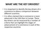 what are the key drivers