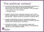 the political context