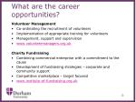 what are the career opportunities2