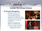 scholar recruitment events1