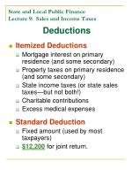 state and local public finance lecture 9 sales and income taxes17