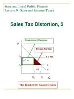 state and local public finance lecture 9 sales and income taxes2