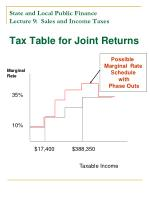 state and local public finance lecture 9 sales and income taxes22