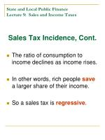 state and local public finance lecture 9 sales and income taxes7