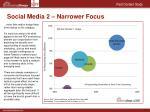 social media 2 narrower focus