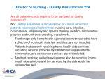 director of nursing quality assurance h 2241