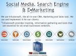 social media search engine e marketing1