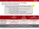 contact center solutions for ip office easy add on partner certification
