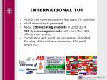 international tut