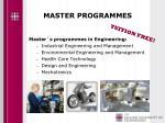 master programmes1