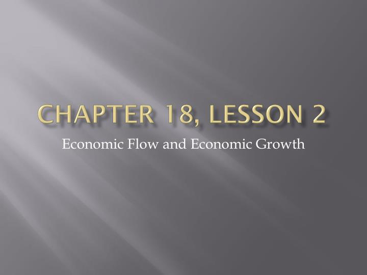 chapter 18 lesson 2 n.