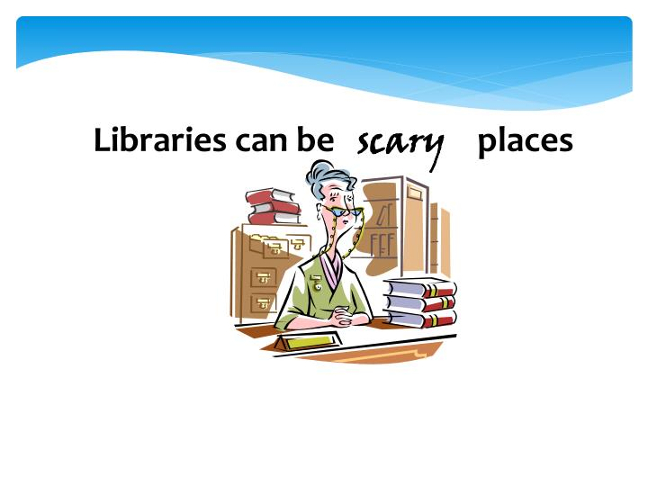 Libraries can be