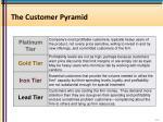the customer pyramid
