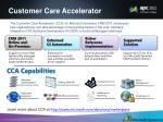 customer care accelerator
