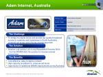 adam internet australia