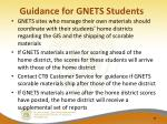 guidance for gnets students1