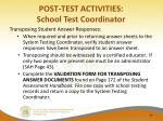 post test activities school test coordinator1