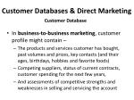 customer databases direct marketing3