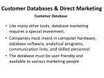 customer databases direct marketing5