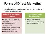 forms of direct marketing2