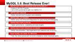 mysql 5 6 best release ever