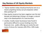 kay review of uk equity markets