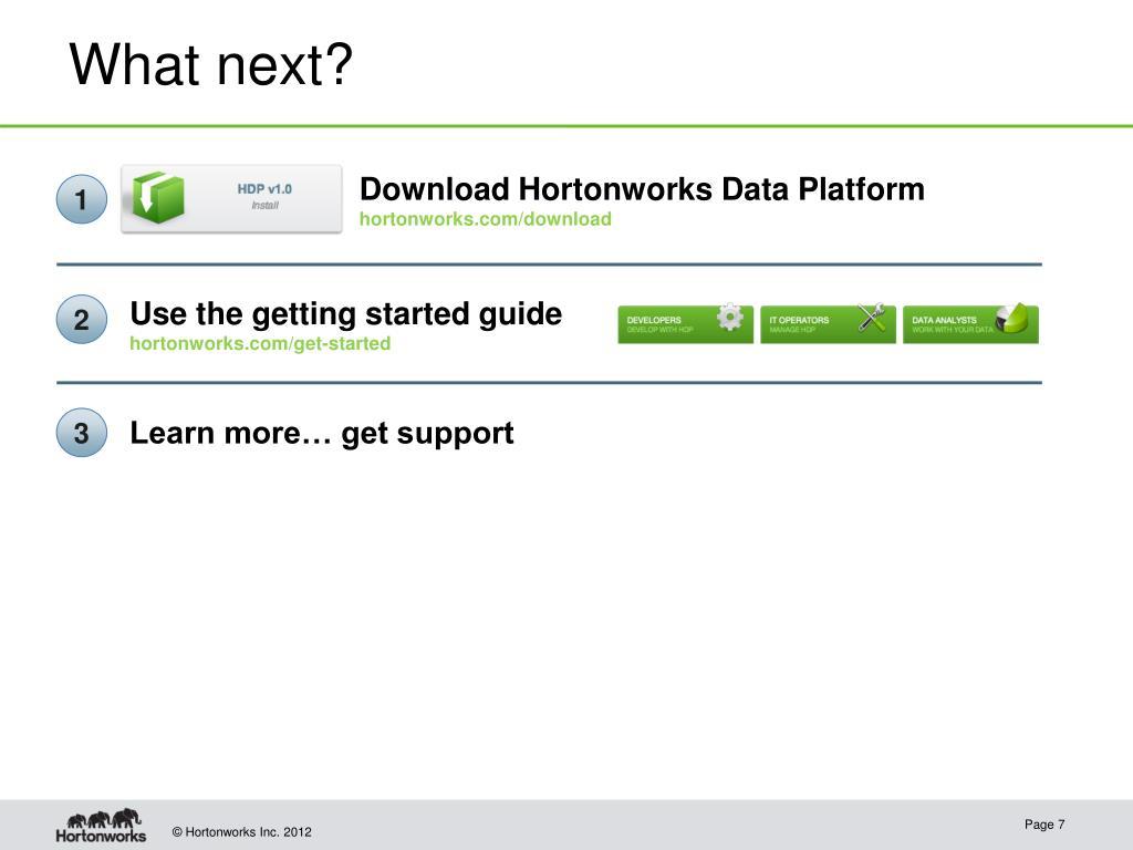 PPT - Hortonworks PowerPoint Presentation - ID:1667619