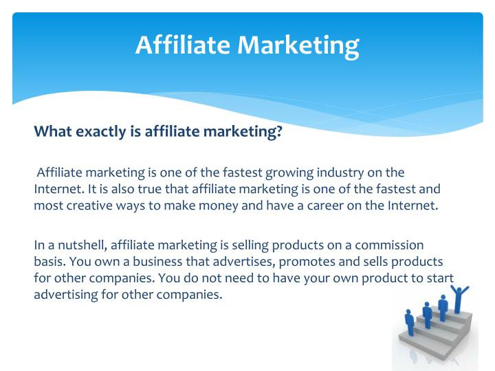 affiliate marketing n.