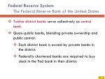 federal reserve system the federal reserve bank of the united states1
