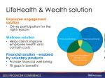 lifehealth wealth solution