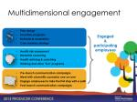 multidimensional engagement