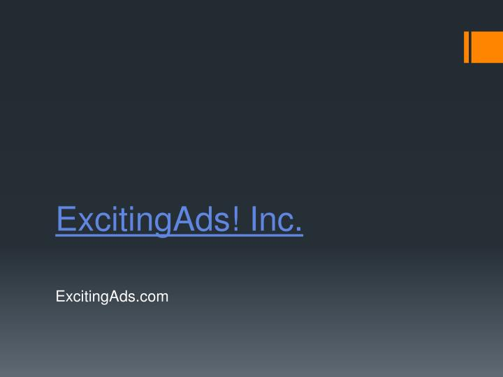 excitingads inc n.
