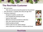 the resvit le customer