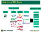 integration of bss group