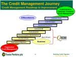the credit management journey credit management roadmap to improvement8