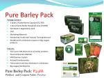 pure barley pack