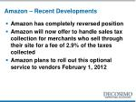 amazon recent developments