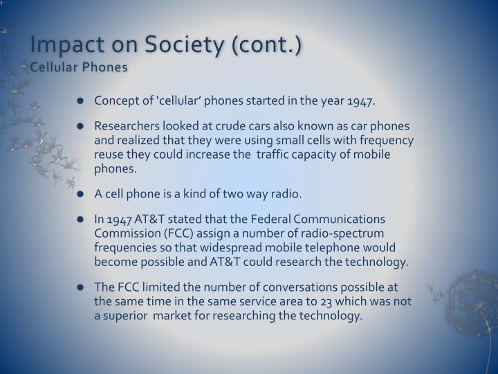 impact of telephone on society